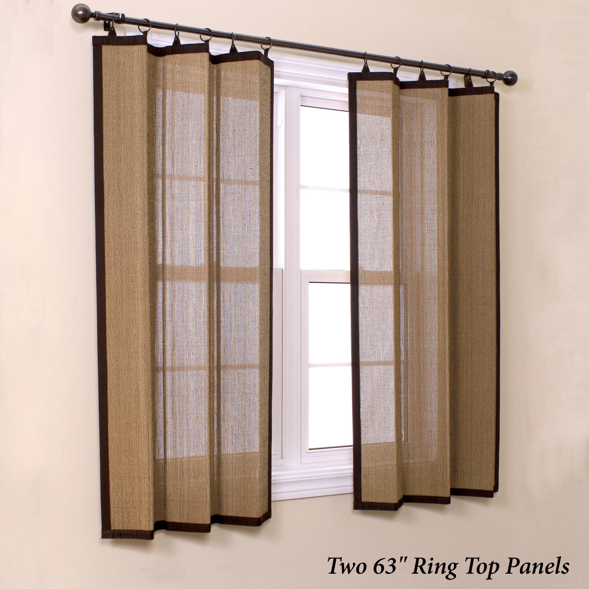 Kitchen curtain panels photo - 1