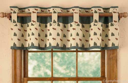 Kitchen curtain panels photo - 3