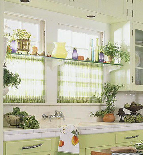 Kitchen curtain sets photo - 3