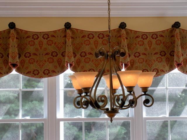 Kitchen curtain valances photo - 1