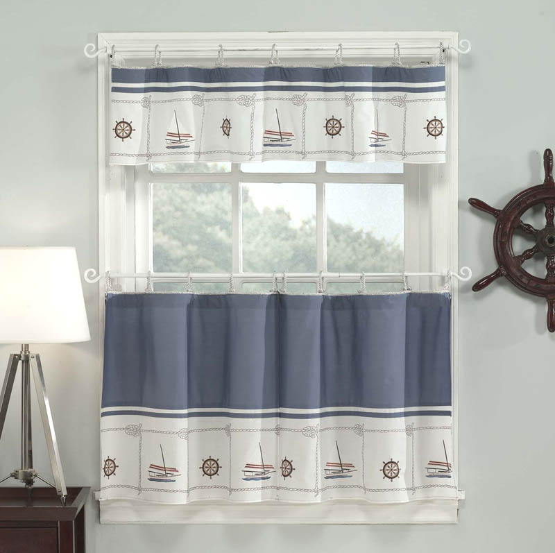 Kitchen curtains and valances photo - 3