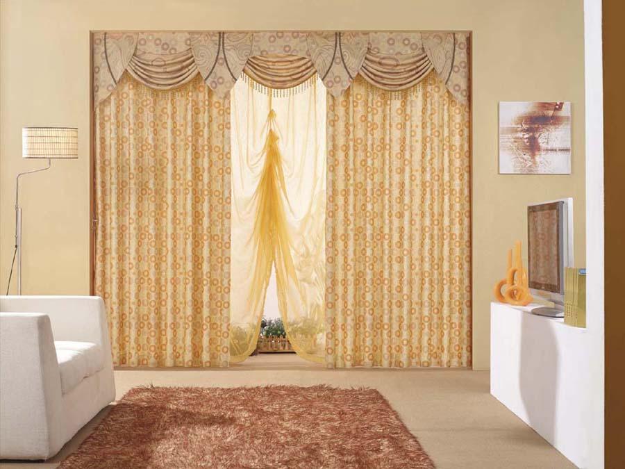 Kitchen curtains valances photo - 1