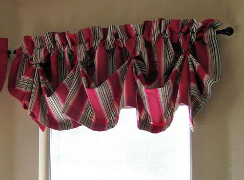 Kitchen curtains valances photo - 2
