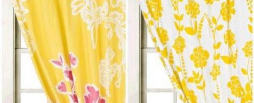 Delightful 10 Photos To Kitchen Curtains Yellow