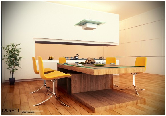 Kitchen dining chairs photo - 3