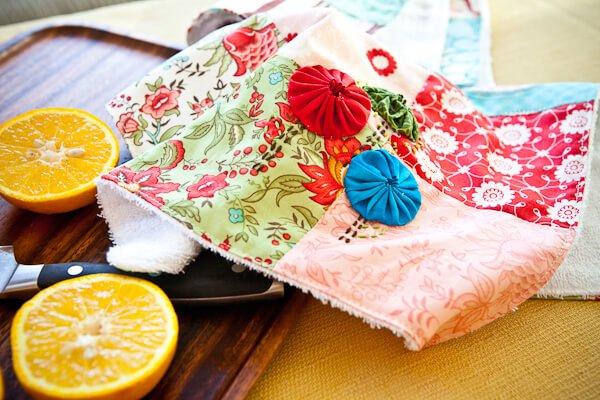 Kitchen dish towels photo - 2