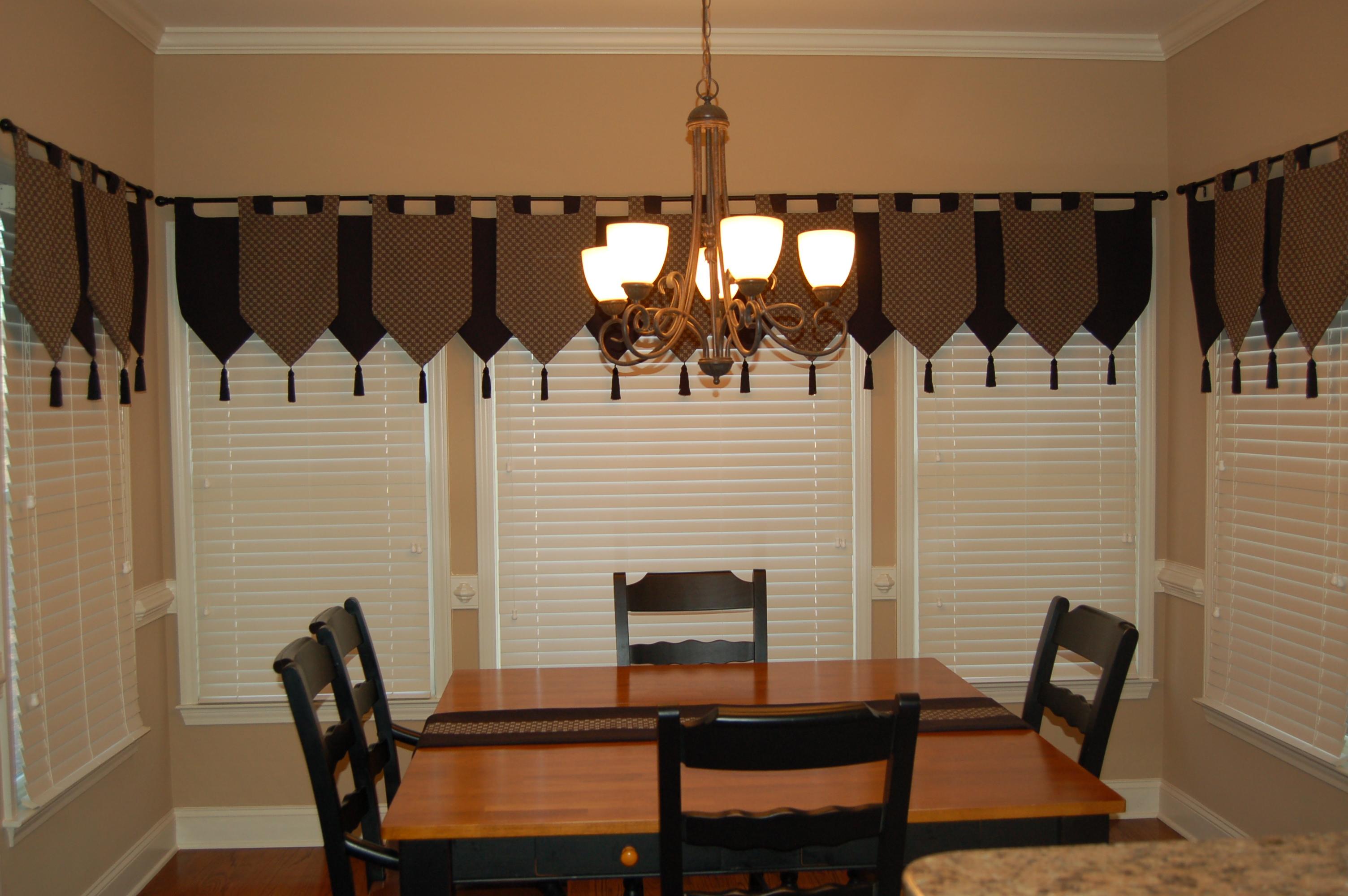 Kitchen door curtains photo - 3