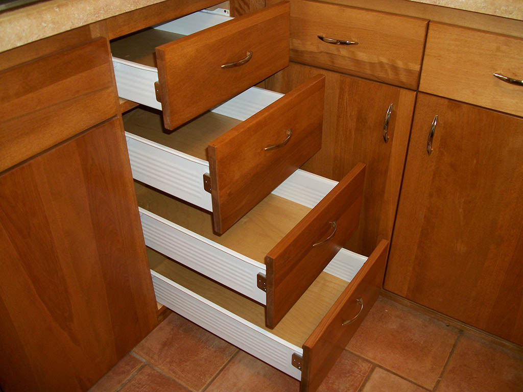 Kitchen drawer cabinets photo - 2