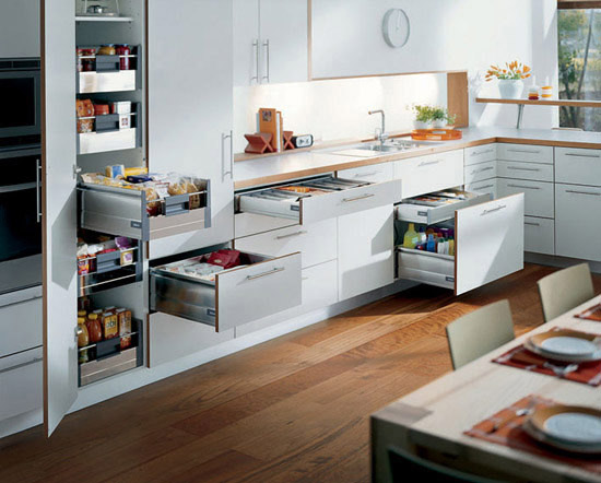 Kitchen drawer storage photo - 1