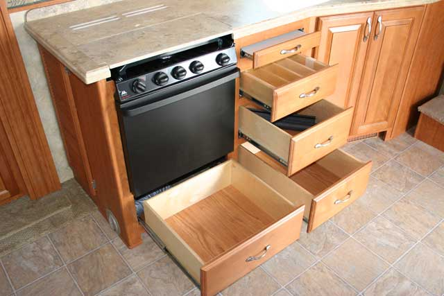 Kitchen drawer storage photo - 2