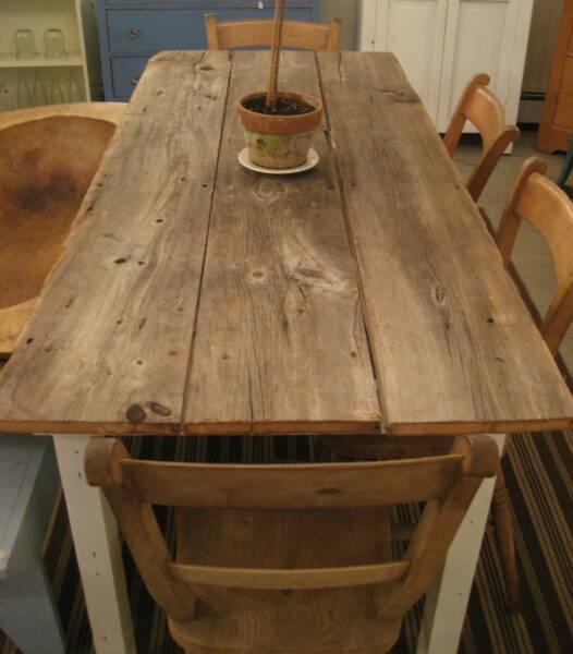 Kitchen farm table photo - 1