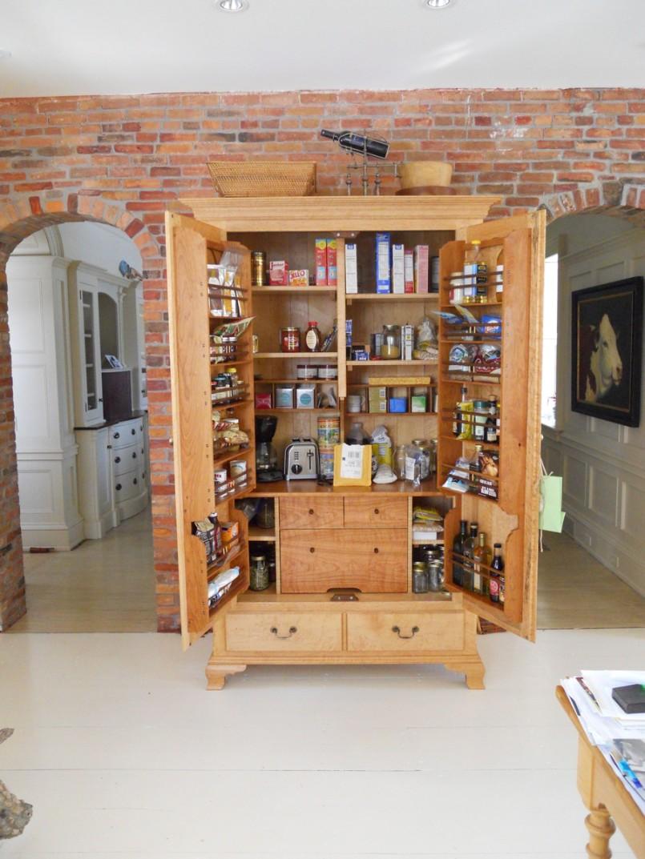 Kitchen freestanding pantry photo - 2