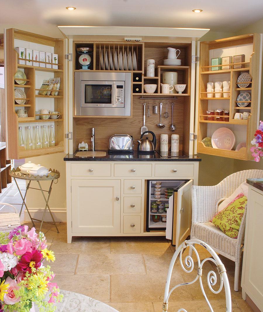 Kitchen freestanding pantry photo - 3