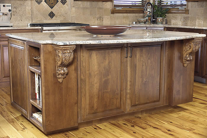 Kitchen island cabinet photo - 3