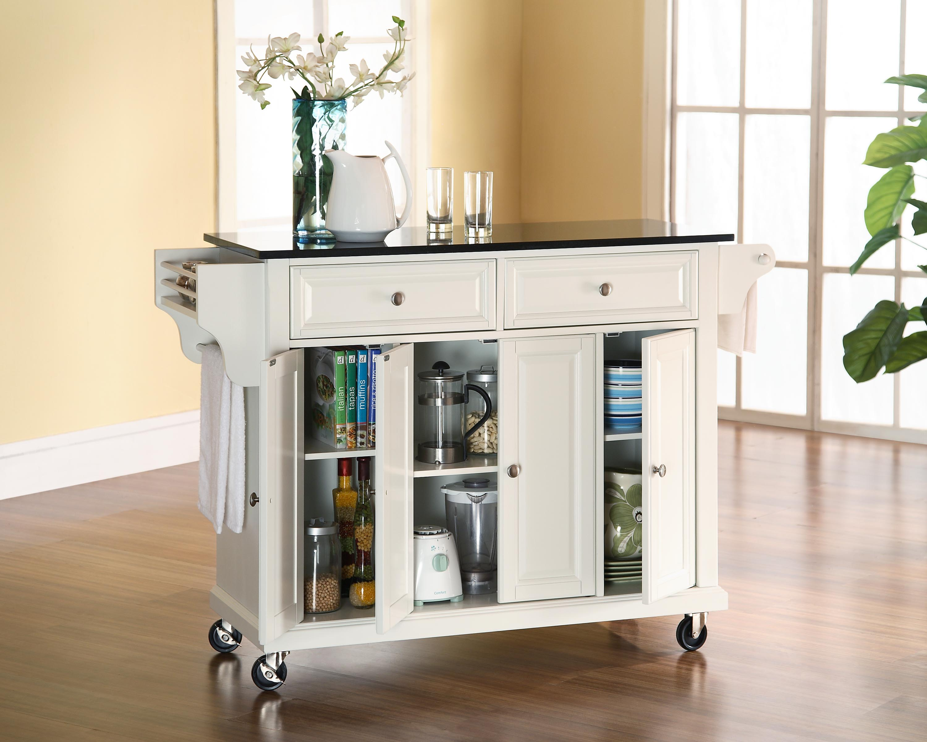 Granite Top Kitchen Island Cart Picgit Com