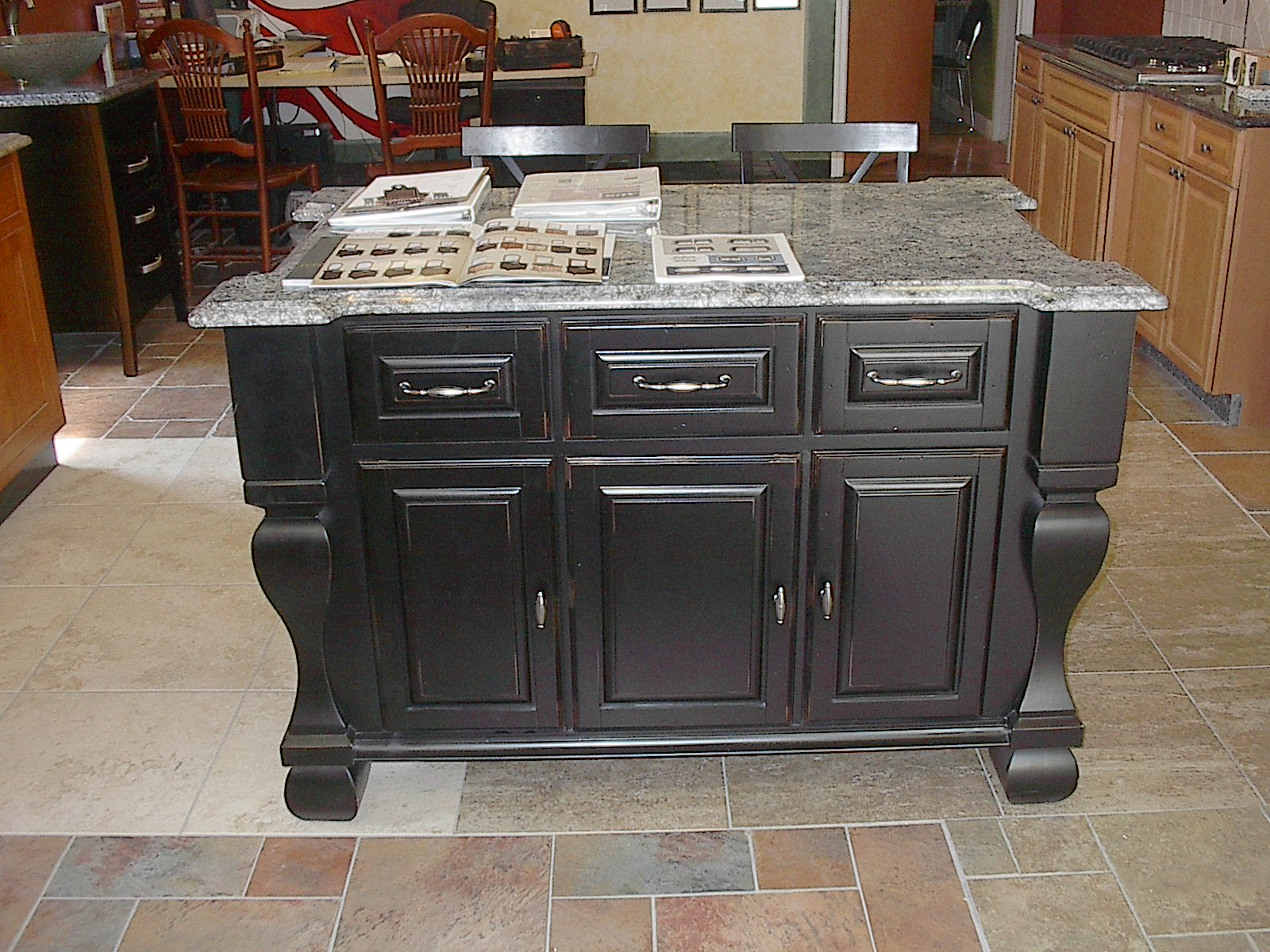 10 photos to kitchen island granite top