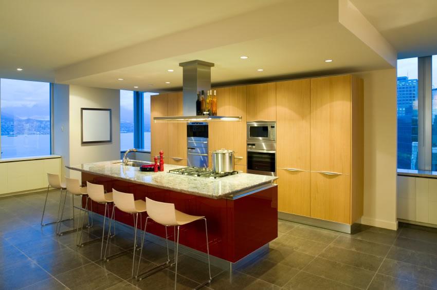 Kitchen island modern photo - 1