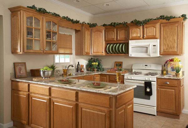 Kitchen island oak photo - 1