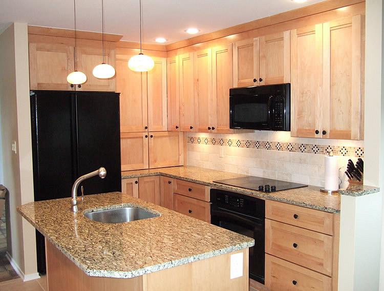 Kitchen island oak photo - 2