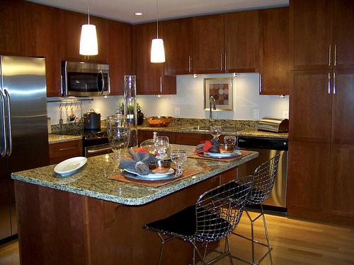 Kitchen island set photo - 1
