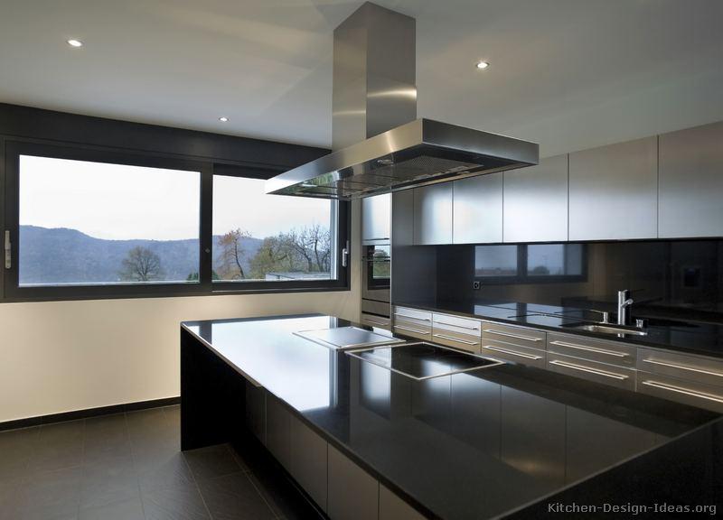 Kitchen island stainless steel top photo - 1