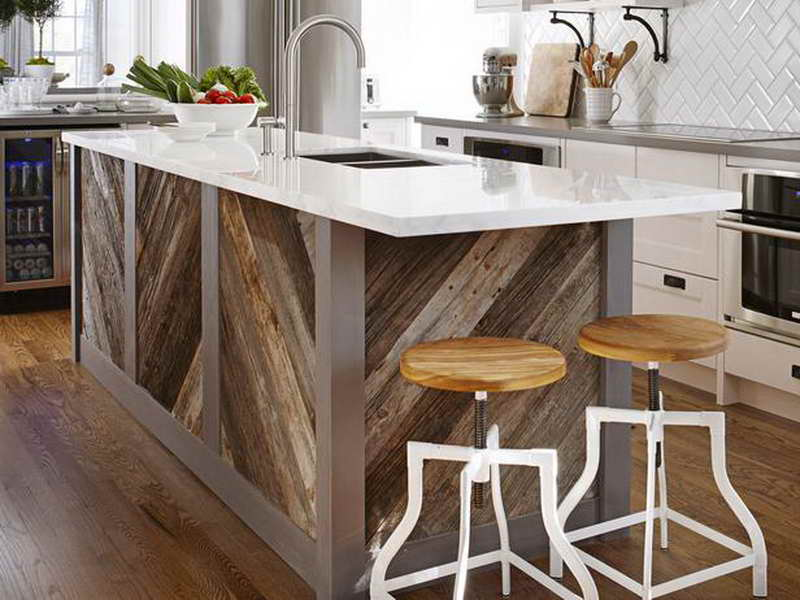 Kitchen island unfinished photo - 1