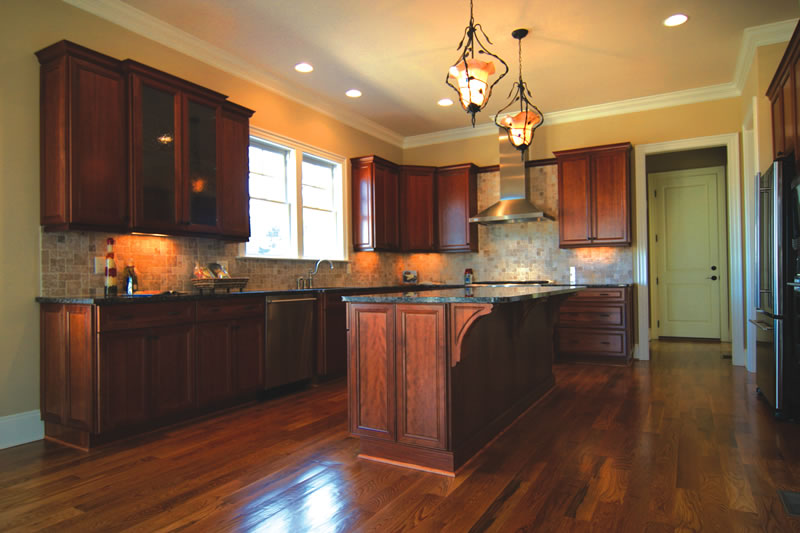 Kitchen island with cabinets photo - 1