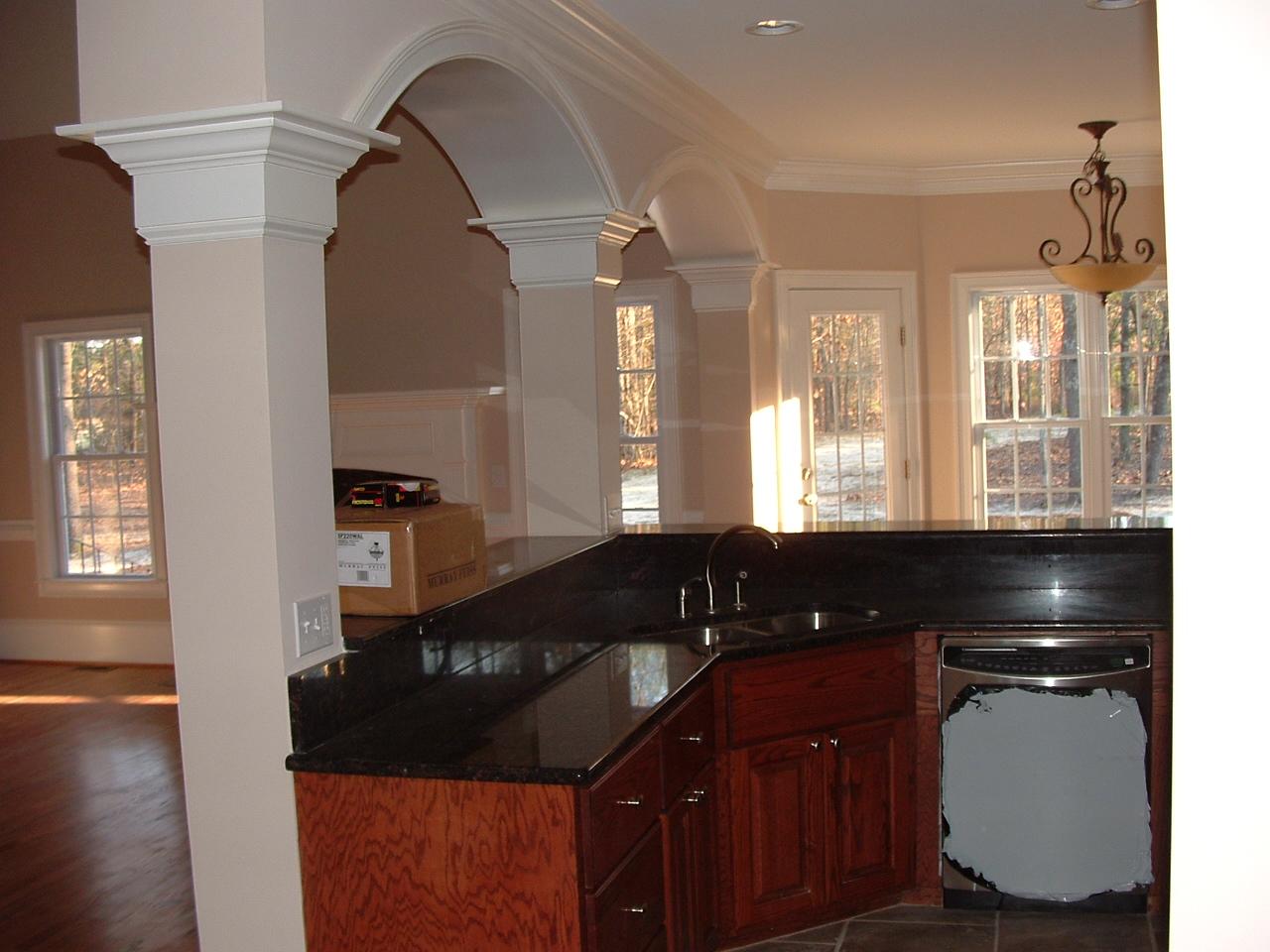 Kitchen islands black photo - 2