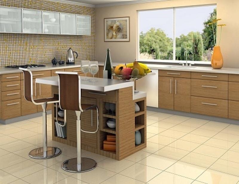 Kitchen islands on wheels photo - 3