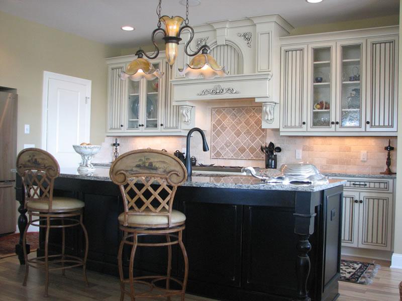 Kitchen islands white photo - 3