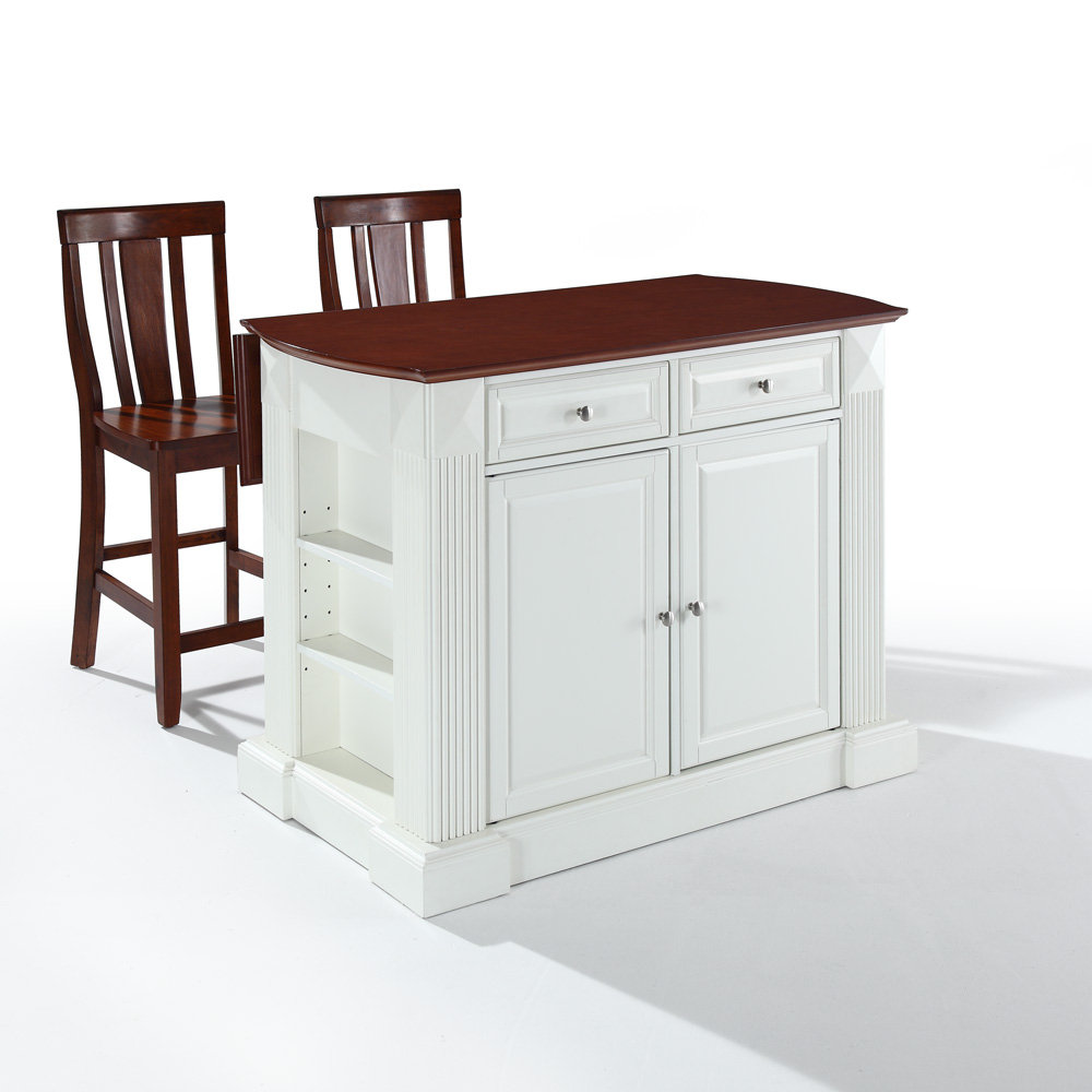 Kitchen islands with drop leaf photo - 2