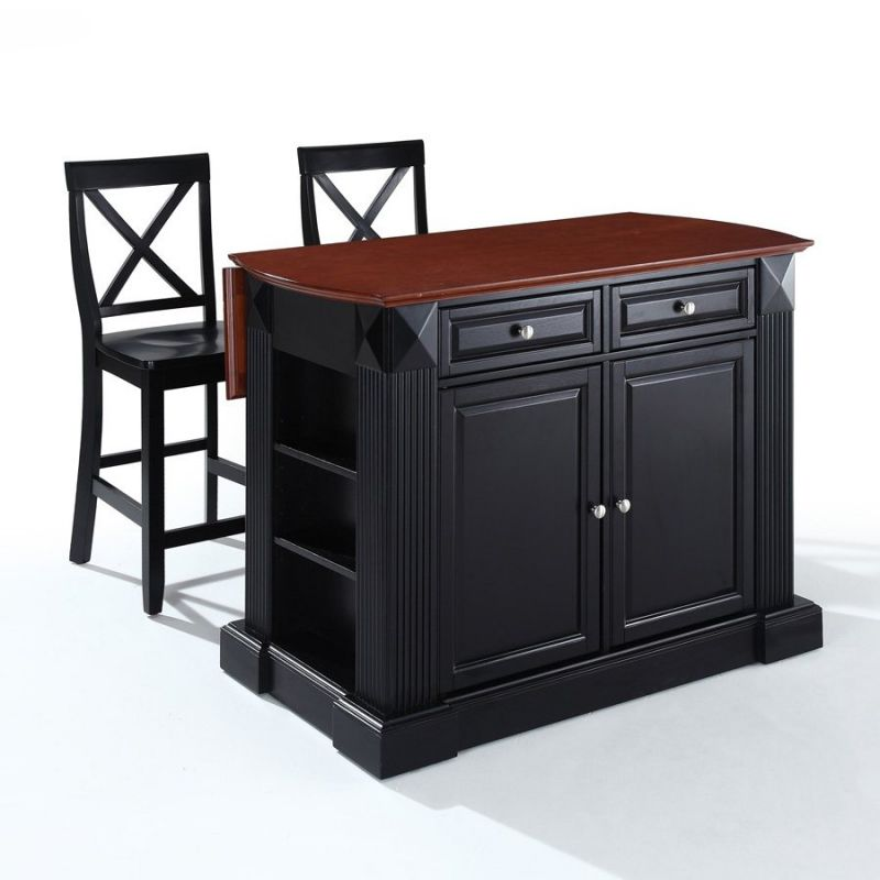 Kitchen islands with drop leaf photo - 3