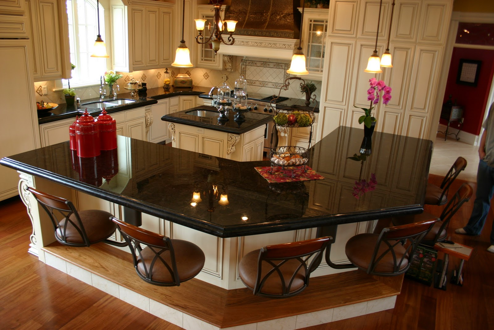 10 photos to kitchen islands with granite tops