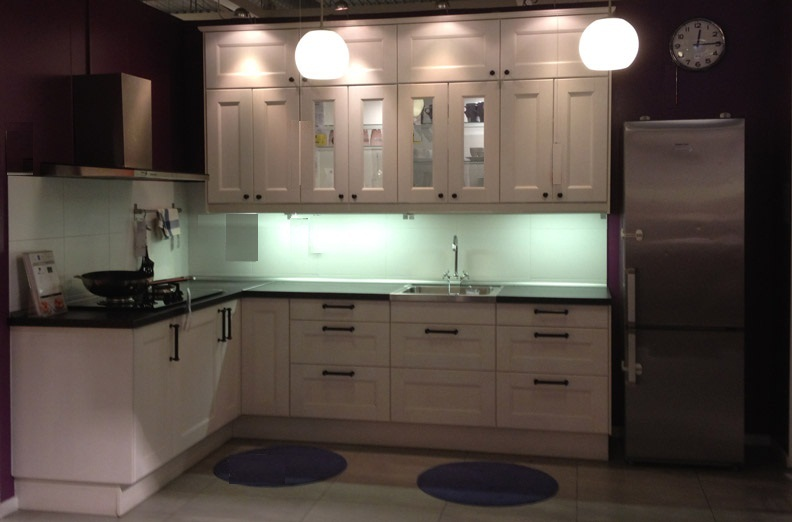 Kitchen microwave cabinet photo - 1