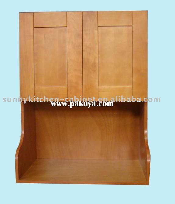 Kitchen microwave cabinet photo - 2
