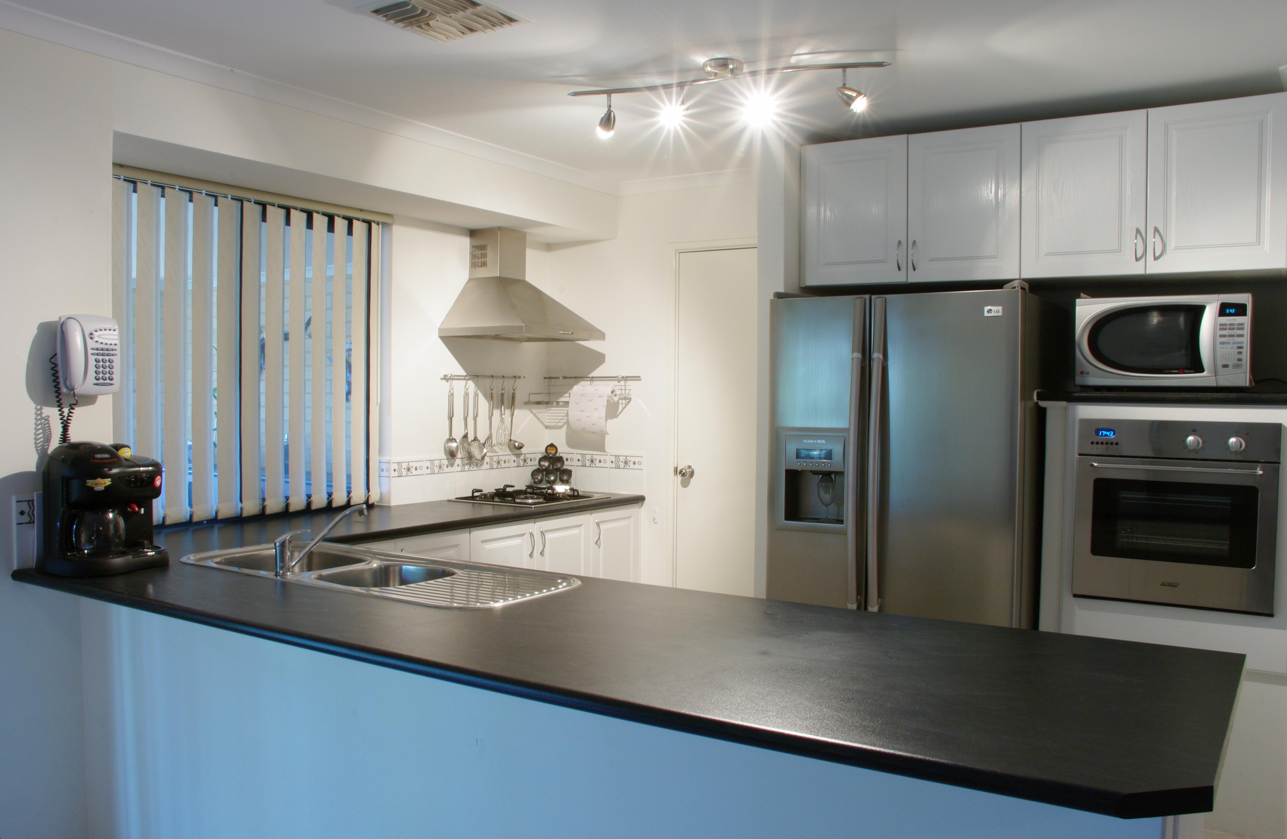 Kitchen microwave shelf photo - 2