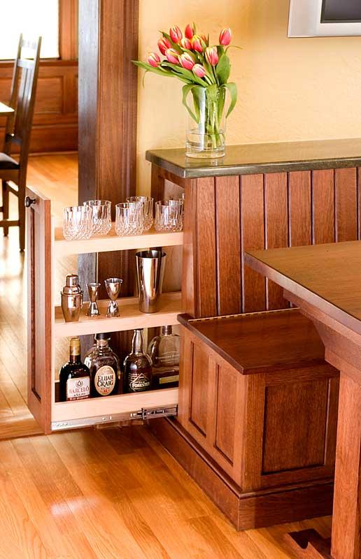 Kitchen nook sets with storage photo - 1