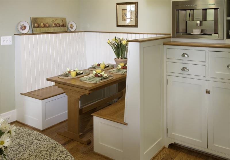 Kitchen nook sets with storage photo - 2