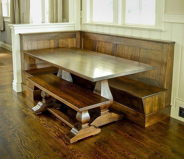 Kitchen nook table set photo - 2