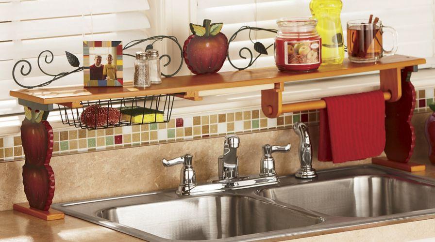 Kitchen over the sink shelf photo - 3