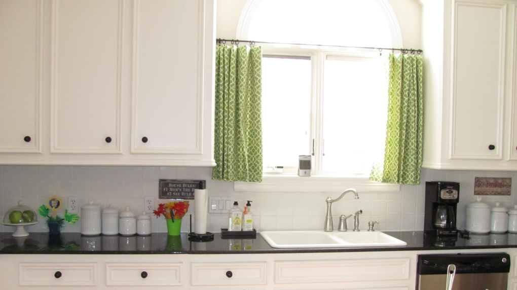 Kitchen panel curtains photo - 2