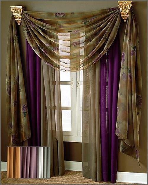 Kitchen panel curtains photo - 3