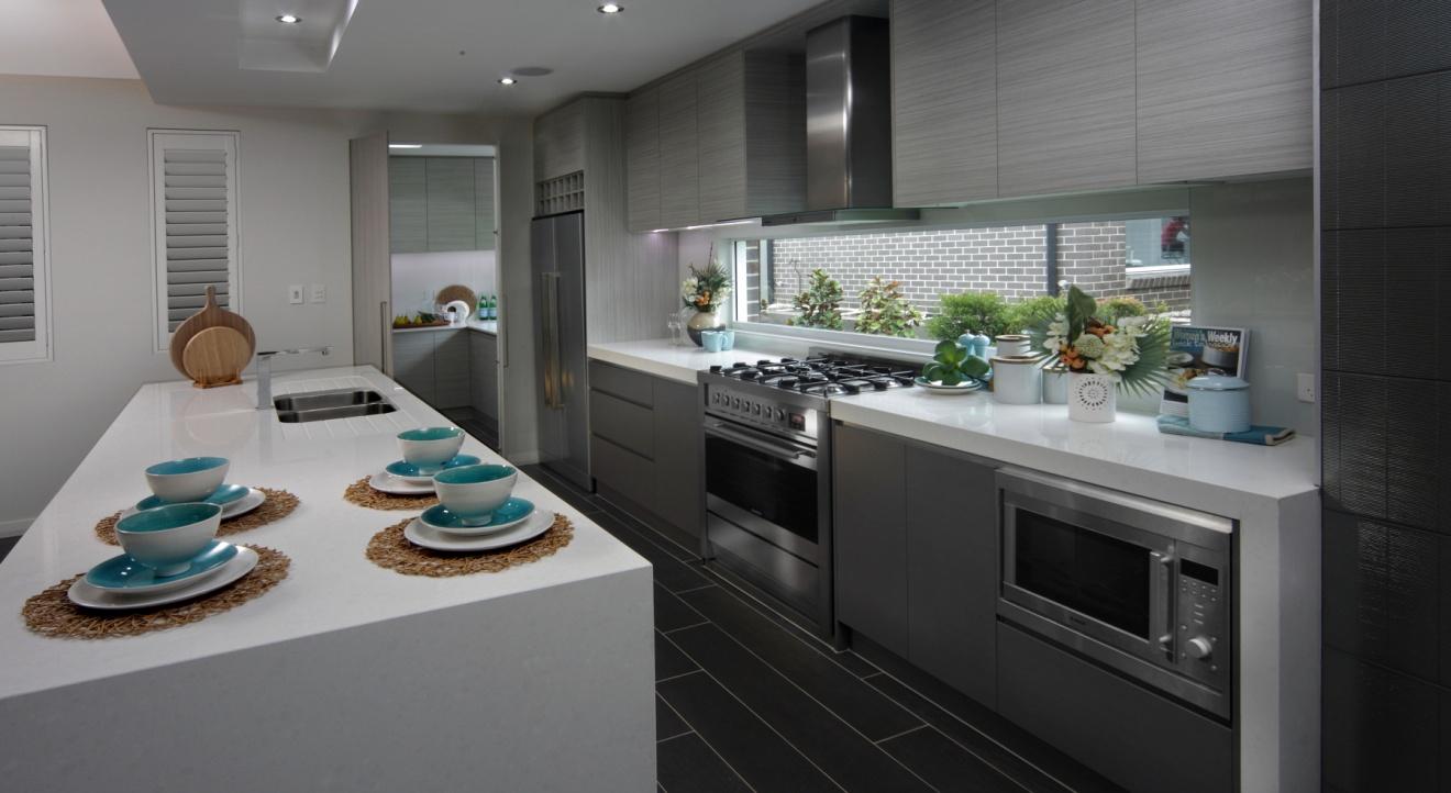 Kitchen pantry black photo - 3