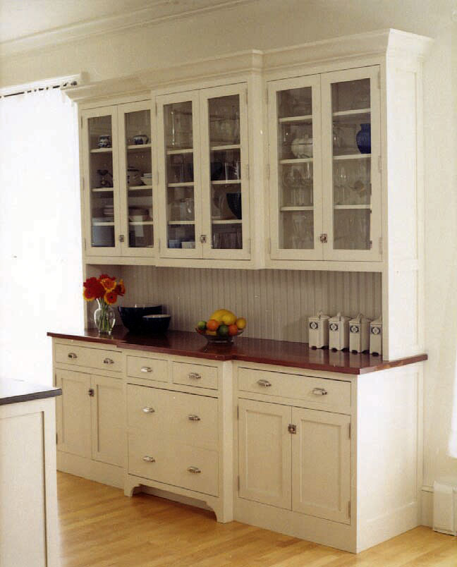 Kitchen pantry cabinets freestanding photo - 1