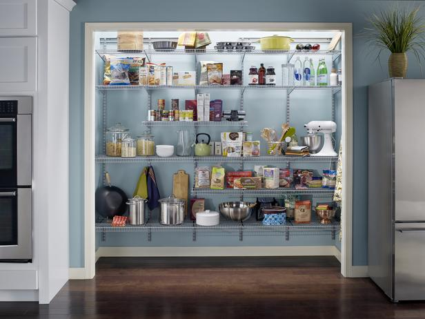 Built in pantry cabinets for kitchen