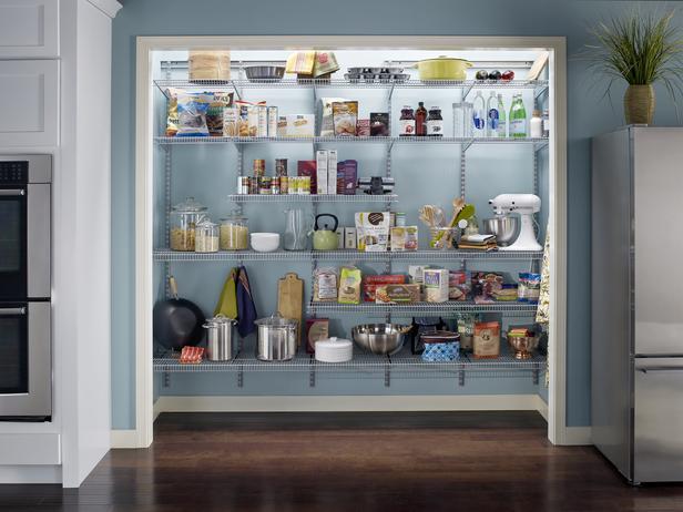 Kitchen pantry closet photo - 2