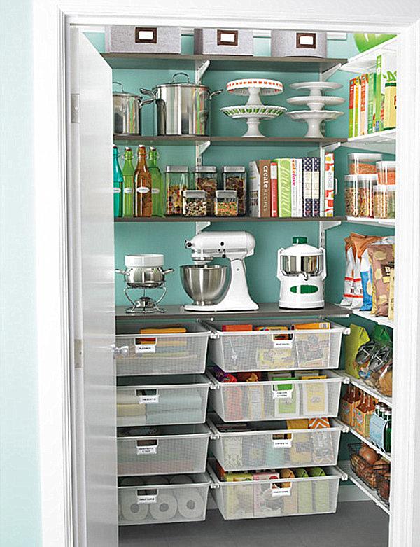 Kitchen pantry door organizer photo - 3