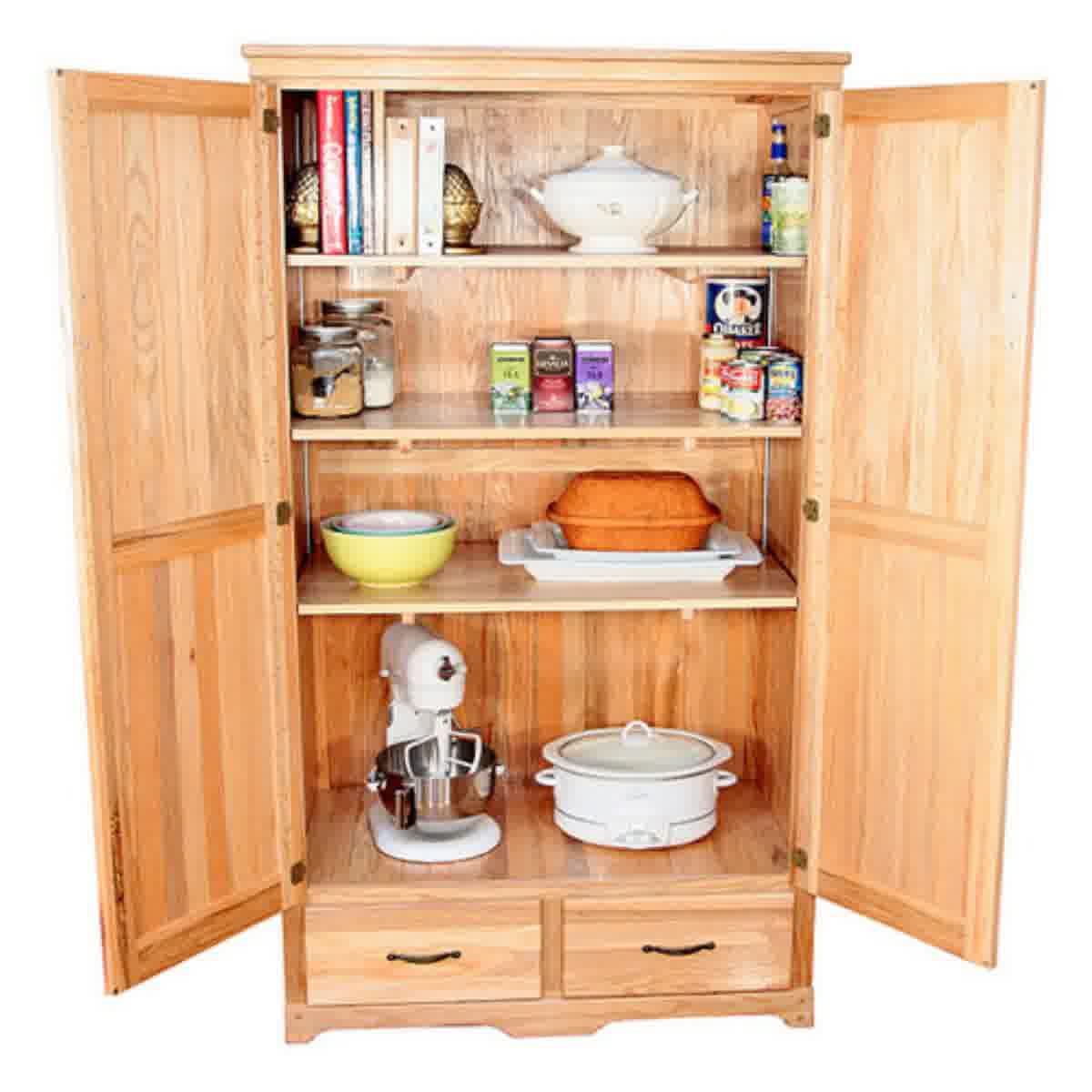 Kitchen pantry free standing photo - 2