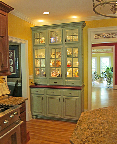 10 Photos To Kitchen Pantry Hutch