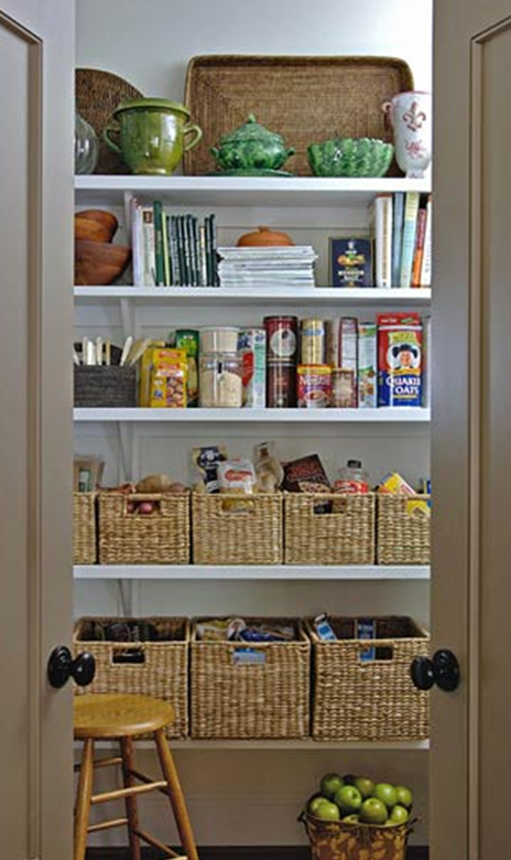 Kitchen pantry organization photo - 1